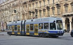 Torino, Corso Vittorio Emanuele II 14.01.2018 (The STB) Tags: trasportopubblico publictransport citytransport öpnv tram tramway strassenbahn strasenbahn torino turin