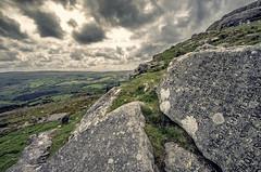 Commandment Stones (Frosty__Seafire) Tags: ten commandments stones moses dartmoor buckland in the moor beacon landscape clouds devon sigma 1020 england countryside moors granite