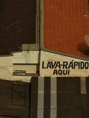 Iamleavingyoutomorrow (renedepaula) Tags: urban city ribeiraopreto roof sign car wash wall brasil brazil