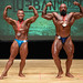 Men's Bodybuilding Grandmasters - 2nd Antonio Coulombe 1st Rock Giguere