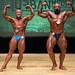 Men's Bodybuilding Grandmasters - 2nd Antonio Coulombe 1st Rock Giguere