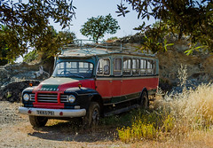 B E D F O R D (frattonparker) Tags: btonner lightroom6 raw truck frattonparker abandoned derelict neglected bus cyprus nikond7000