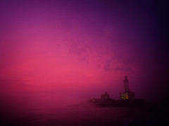 அ. (Prabhu B Doss) Tags: thiruvalluvar valluvar statue 133ft kanyakumari sunrise indian ocean island cape camorin vivekananda rock ganapathisthapati sculpture clopuds travelphotography tamilnadu india incredibleindia enchantingtamilnadu morning light thirukural fujifilm gfx50s medium format manfrotto sea tamil