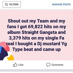 My hits and streams are going through the roof I got the best team we're rolling 💰#musiclovers #follow #f4f #followme #followforfollow #follow4follow #teamfollowback #followher #followbackteam #followhim #followall #followalways #followback #ifol (black god zilla) Tags: my hits streams going through roof i got best team were rolling 💰musiclovers follow f4f followme followforfollow follow4follow teamfollowback followher followbackteam followhim followall followalways followback ifollowback ialwaysfollowback pleasefollow follows follower following fslc followshoutoutlikecomment