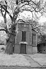 1858 German Methodist Episcopal (David Sebben) Tags: german methodist church davenport iowa goldcoast black white monochrome building 1858 architecture episcopal