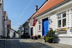 DSC_2805 (Øyvind Andersen) Tags: blue stavanger gamle reise rogaland unesco verenverdig arkitektur architecture norway norge noreg