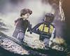 When Han met Lando (jezbags) Tags: han solo lando starwars star wars story lego legos toy toys macro macrophotography macrodreams macrolego canon canon80d 80d 100mm closeup upclose atmosphere hansolo
