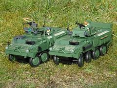 Cobi_2609_2610_Steering_Upgrade_2 (El Caracho) Tags: cobi building blocks small army 2609 lav iii apc 2610 stryker m1126 icv steering upgrade moc