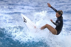 Coco Ho (Rising Tide Images) Tags: cocoho surfing surfergirl surf wave beach hawaii pacific ehukai watersports northshore surfer oahu ocean salty