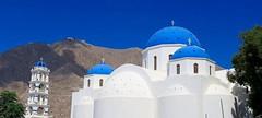 Santorini (majka44) Tags: santorini greece blue church white architecture travel building sky tower
