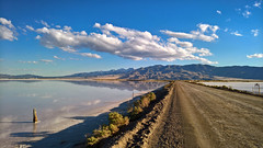 I don't know why (Irwin Scott) Tags: stansbury greatsaltlake utah mortonsalt ponds clouds bluesky