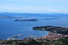 Galicia - Ría de arousa (Ismael Owen Sullivan) Tags: mirador sea mar ocean oceano riasbaixas landscape horizont horizonte foto fotografia nikon d5300 digital galicia pontevedra rias travel europa europe