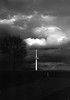 Cold tower (Rosenthal Photography) Tags: washis50 20180501 bnw ff135 schwarzweiss bw 35mm olympus35rd analog asa50 landscape nture spring april clouds dark darkness daysofdarkness blackandwhite contrast olympus olympus35 35rd fzuiko zuiko 40mm f17 washi washis 50asa rodinal 125 epson v800