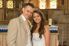 I NOW PRONOUNCE YOU.... (mark_rutley) Tags: bride brideandgroom bridesmaid dress groom wedding weddingphotography church photographycourse firstpointphotography bournemouth