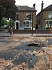 burst water main, Penge (looper23) Tags: thames water penge main burst road closed may 2018 utility london