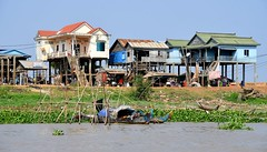 Life on the Cambodian Mekong River. (One more shot Rog) Tags: mekong river cambodia mekongriver mekongdelta fishing boats boat onemoreshotrog stilts southeastasia