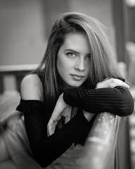 Portrait  - Paula by lsmart -  #Pentax67 #kodakfilm #tmax400