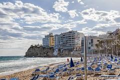 Benidorm beach (Carlos SGP) Tags: españa es comunidadvalenciana alicante benidorm beach playa mar sea mediterraneo costablanca costa