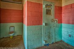 20171120_LANCASTER and WV_20171120-BFF_5048WV Penitentiary_HDR (Bonnie Forman-Franco) Tags: penitentiary westvirginiapenitentiary westvirginiaprison jail infirmary prisoninfirmarypsychward prisoninfirmary colorful pink blue toilet prisontoilet nikon nikonphotography prisonwalls hdr abandoned abandonedprison abandonedpenitentiary abandonedphotography bonnie photoladybon