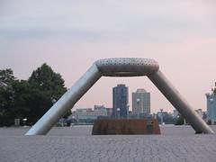 Horace E. Dodge and Son Memorial Fountain (vj_pdx) Tags: detroitmi detroit detroitmichigan downtown midtown isamunoguchi hartplaza horaceedodgeandsonmemorialfountain detroitusa 98226 1hartplaza