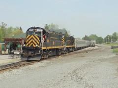 DSC06456R (mistersnoozer) Tags: shortline rr railroad excursion train alco locomotive lal c420 rgvrrm c425