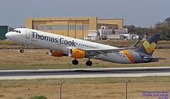 G-TCDL LMML 26-04-2018 (Burmarrad (Mark) Camenzuli Thank you for the 12.2) Tags: airline thomas cook airlines aircraft airbus a321211 registration gtcdl cn 6968