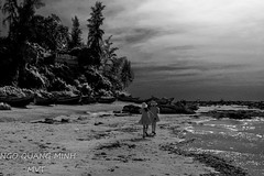 Colors 136 (Minh Ngo Quang) Tags: nature blackandwhite abstract seascape