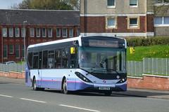 67081 SN65ZFW First Glasgow (busmanscotland) Tags: 67081 sn65zfw first glasgow sn65 zfw ad adl alexander dennis e20d enviro 200 e200 enviro200 mmc