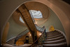Nelson Staircase Somerset House (GaryColet) Tags: 2017 london somersethouse architecture curves distort fisheye handrail light stairs stone