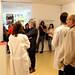 Una de les proves de l'exposició Centre d'Atenció Primària CAP Jazz Vic exigeix al públic demostrar la seva capacitat de concentració. Foto: ACVic Centre d'Arts Contemporànies.