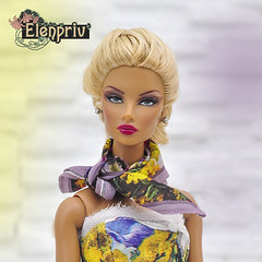 Beautiful fashions from Spring Melody Collection by ELENPRIV (elenpriv) Tags: beautiful fashions spring melody collection elenpriv elena peredreeva handmade clothes 12inch fr2 doll integrity toys jason wu natalia elusive creature