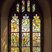 All Saints' Church, Tudeley with stained glass by Marc Chagall.
