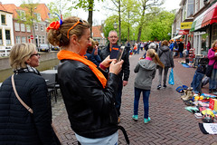 A Snapshot In The Family Album (Alfred Grupstra) Tags: people editorial street europe women outdoors urbanscene germany protest crowd men kingsday