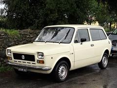 1974 Fiat 127 Familiare Coriasco (Alessio3373) Tags: cars oldcars classiccars autoshite youngtimers stationwagon fiat fiat127 fiat127familiare fiat127familiarecoriasco coriasco carrozzeriacoriasco targhenere blackplates worldcars