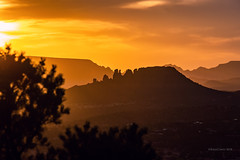 Sedona Sunset (RaulCano82) Tags: sunset silhouette sky az arizona sedona landscape earth nature raulcano canon 80d photography goldenhour mountain mountains desert