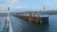 Shannon Dolphin car ferry departing Killimer, County Clare, Ireland (David McKelvey) Tags: 2018 europe ireland shannon car ferries sony dscrx100