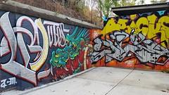 Putos, oRicks & Silk Roy... (colourourcity) Tags: streetart streetartnow streetartaustralia melbourne melbournestreetart melbournegraffiti graffiti graffitimelbourne colourourcity nofilters awesome original putos acm artcrushmob oricks silk silkroy kidsilk awk 615 chromie