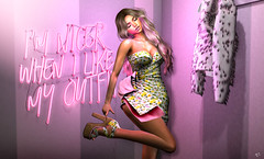 Fashion lover (meriluu17) Tags: belleepoque foxcity fashion pink pastel people portrait passion lover feelings pose