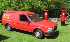 Austin Maestro 500 City diesel D566TCW Mail van with Pillars (kitmasterbloke) Tags: austin maestro mailvan royalmail gpo heritage vehicle transport red post box pillar outdoor uk