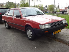 1983 Toyota Camry DX (Skitmeister) Tags: 32rgl7 carsport 2018 nederland skitmeister holland netherlands