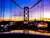 Please Come Home (Thomas Hawk) Tags: america baybridge california sanfrancisco usa unitedstates unitedstatesofamerica bridge sunset us fav10 fav25 fav50