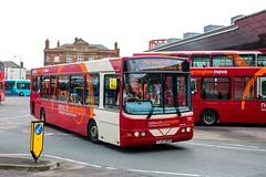 Warrington's Own Buses YJ57BPO (Mike McNiven) Tags: warrington interchange warringtonsownbuses networkwarrington wright cadet martinscroft