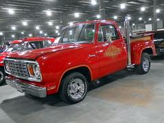 1978 Dodge D-150 Lil Red Express (splattergraphics) Tags: 1978 dodge d150 lilredexpress pickup truck mopar carshow eastcoastindoornationals marylandstatefairgrounds timoniummd
