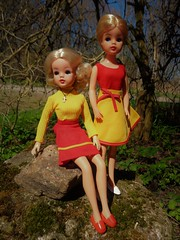 Quickchange skirts 1976 (CooperSky) Tags: 1976 sindy fashions for all quickchange