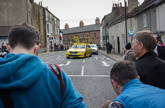 Mavic support team (barronr) Tags: england knaresborough rkabworks tourdeyorkshire yorkshire bathgatephotographer caravan cycling race support