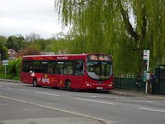 trent barton 681 Rainworth (Guy Arab UF) Tags: trent barton 681 fj55abk scania l94ub wright solar bus rainworth nottinghamshire wellglade buses wellgladegroup