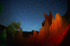 (johnsinclair8888) Tags: night longexposure nikon wideangle brycecanyon utah lightpainting landscape 15mm