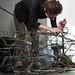 Preparation works for Creative Robotics Exhibition