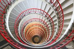 Spiral Staircase (morbidtibor) Tags: slovenia ljubljana nebotičnik stairs staircase
