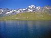Vent'anni fa: il lago Cornet (2.334 m) e il Grand Combin (4.314 m) (giorgiorodano46) Tags: regondi vallonediby luglio1998 july 1998 valdaosta valléedaoste valpelline lagocornet grandcombin alpi alpes alps alpen
